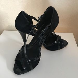 White House Black Market Peep Toe Pumps